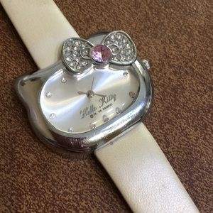 Other - BOGO Girls Rhinestone Quartz Character Watch